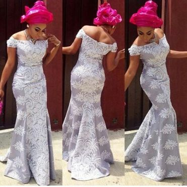 Aso Ebi Styles Over The Weekend @Ladoyinbridals - AmillionStyles