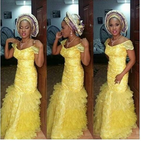 Aso Ebi Styles Over The Weekend @Tytyadey - AmillionStyles