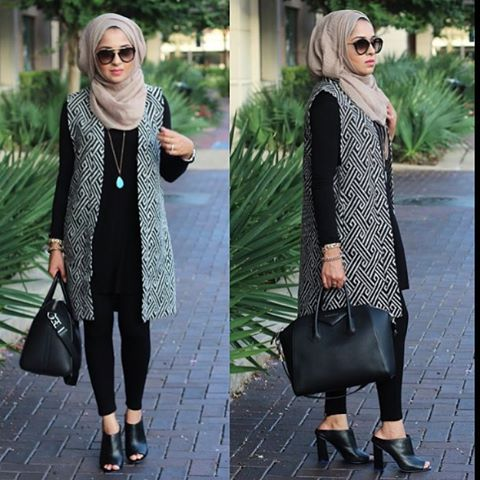 Beautiful Islamic Dresses With Hijab1