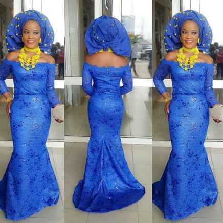 Colorful Aso ebi In Lace Lookbook 10 @Iamnini1