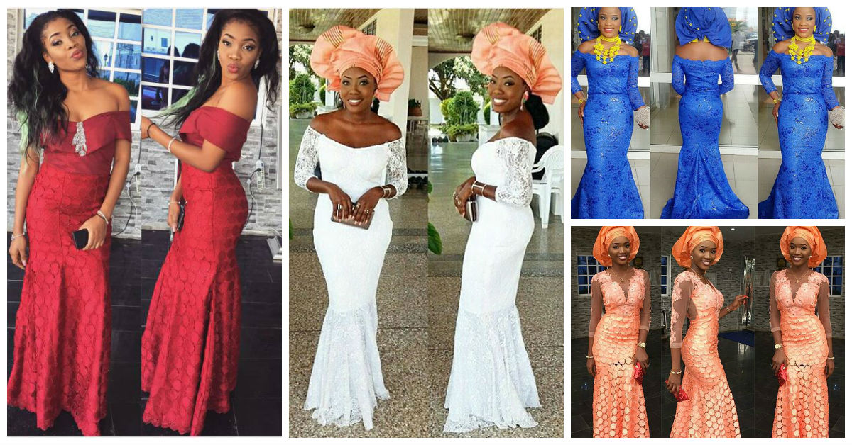 Colorful Aso ebi In Lace Lookbook 10 Cover