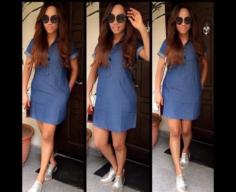 Amazing casual dress by Toke Makinwa4