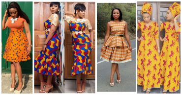 Rocking Ankara In Different Styles