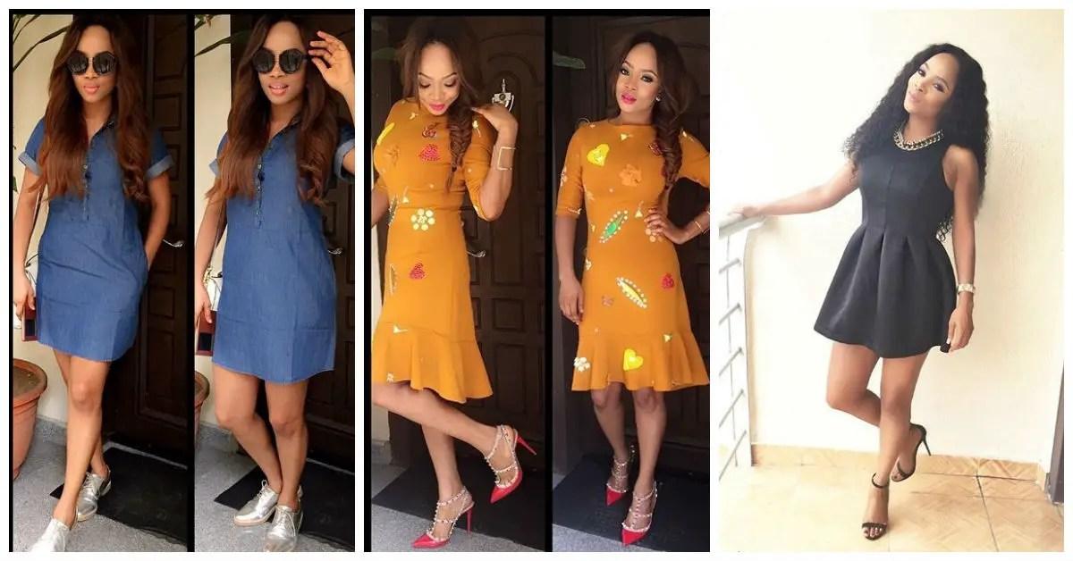 amazing casual dresses toke makinwa amillionstyles