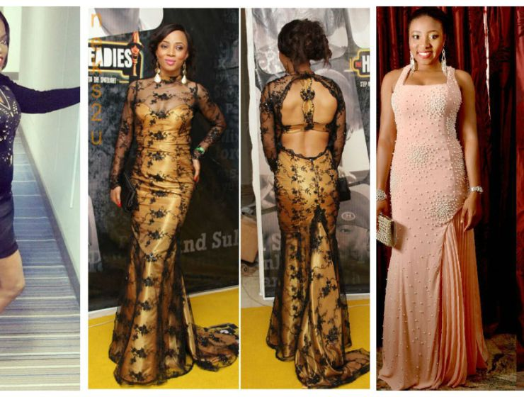 dinner gown from nigerian fashionistas
