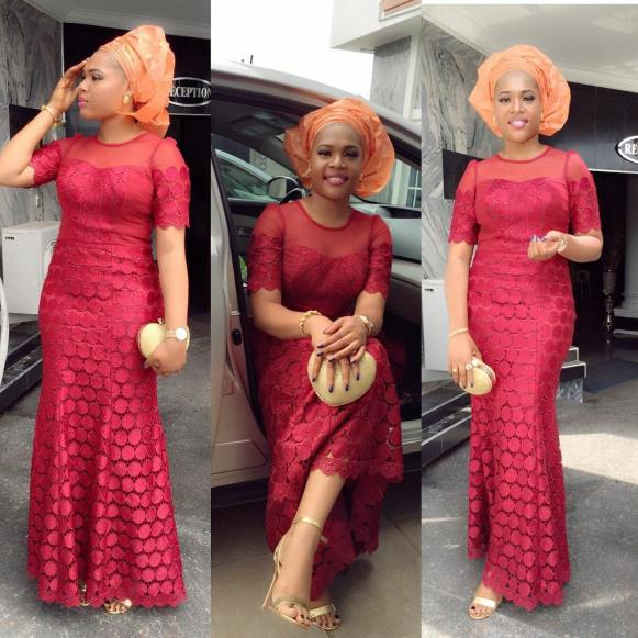 Beautiful Aso Ebi Styles - You Need To Cop @mizposh94
