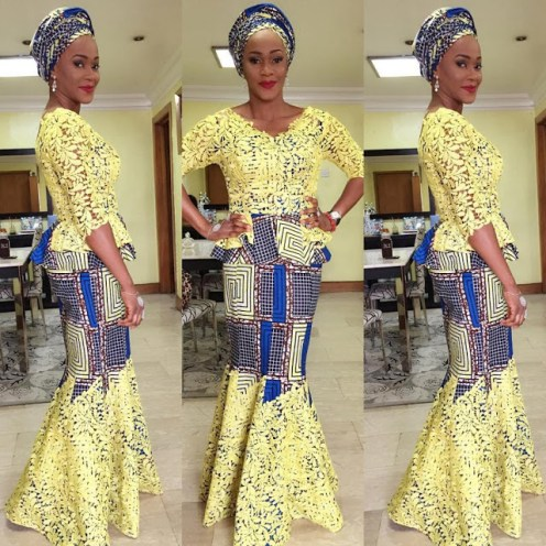 latest aso ebi styles combination amillionstyles