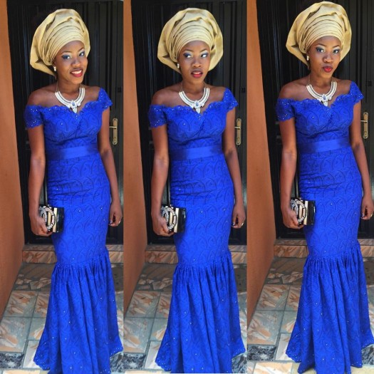 latest aso ebi @coy_mistress