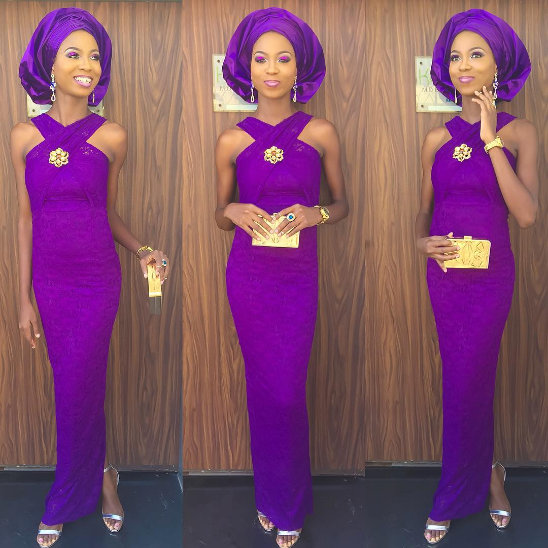 10 Most Beautiful Amp Latest Aso Ebi Styles