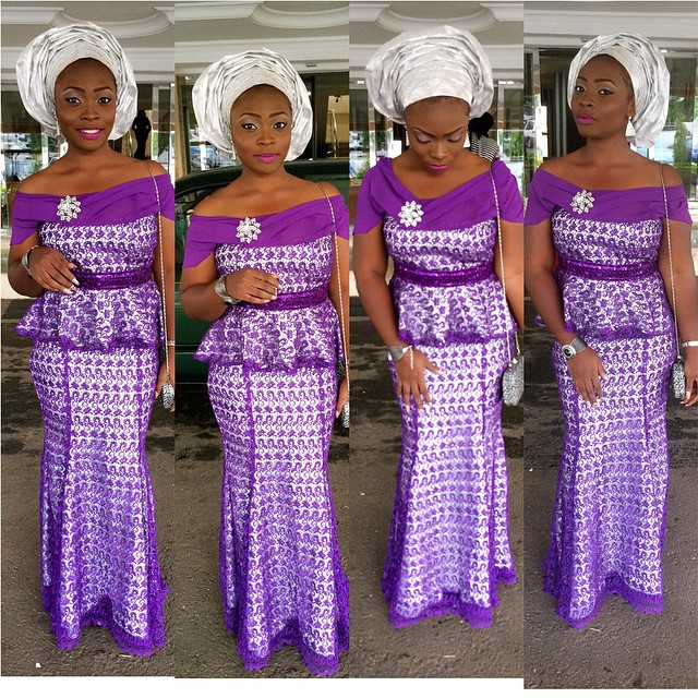 9 Amazing Nigerian Traditional Skirt and Blouse Styles. | A Million ...