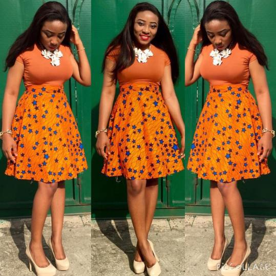 Rocking Ankara In Different Styles @beebeeies