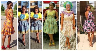 ankara short gown styles amillionstyles.com cover