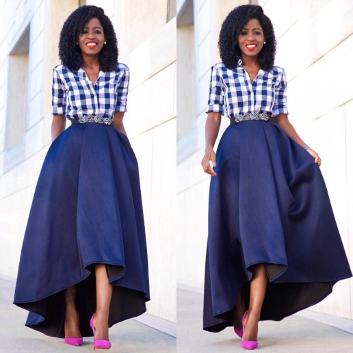 Classy And Stunning Outfit For Church amillionstyles.com @stylepantry