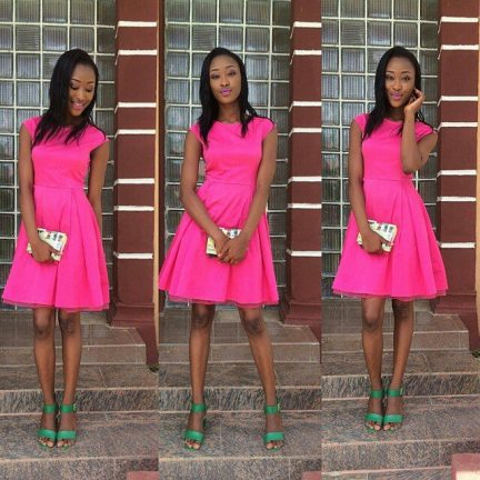 Classy And Stunning Outfit For Church amillionstyles.com @qween.pinky