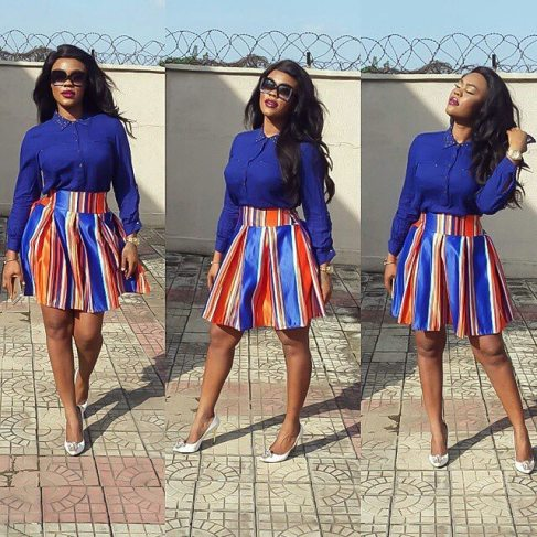 Classy And Stunning Outfit For Church amillionstyles.com @daniellaokeke