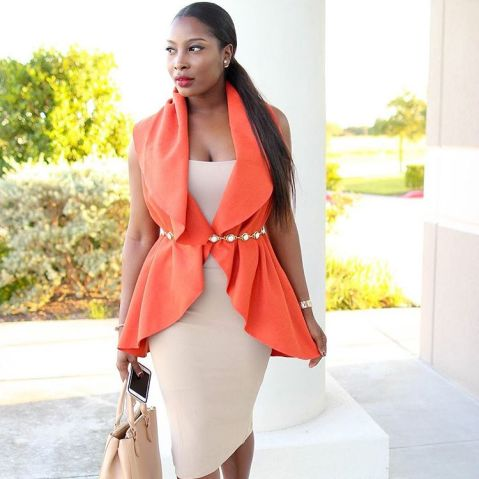 Classy And Stunning Outfit For Church amillionstyles.com @ironyofashi