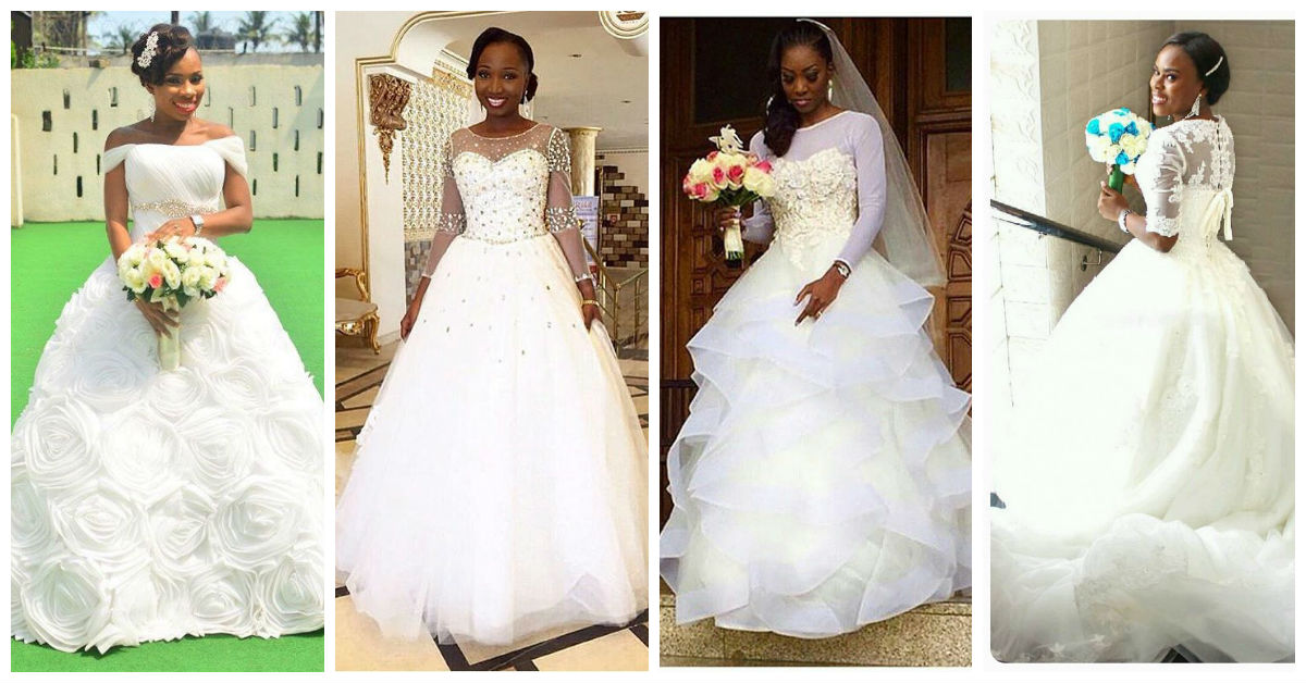 Nigerian Trending And Glamorous Wedding Dresses. | A Million Styles ...