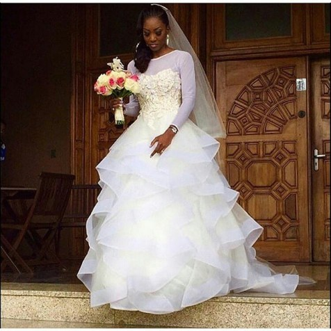 nigerian trending and glamorous weddimg dresses