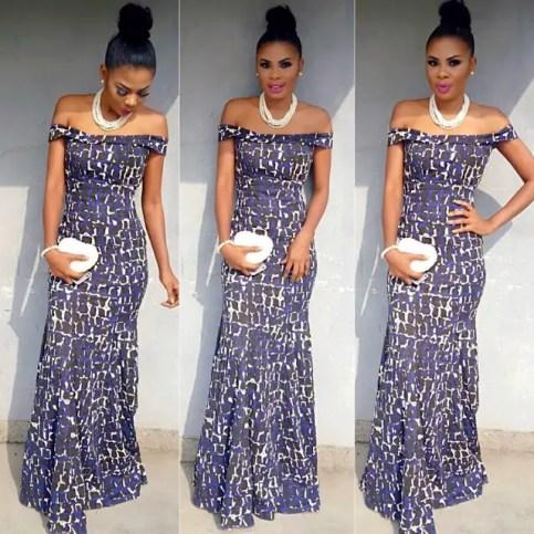7 Trending Nigerian Ankara Styles aso ebi gown amilllionstyles.com-2016