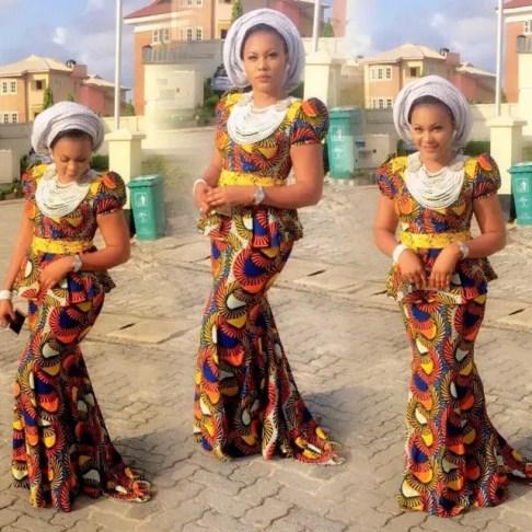 7 Trending Nigerian Ankara Styles-skirt-&-blouse-amilllionstyles.com-2016