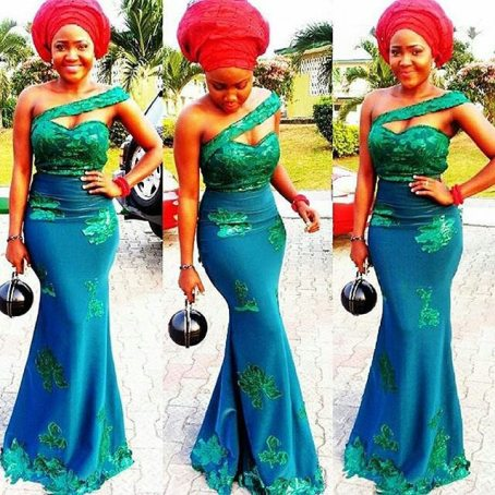 magnificent aso ebi styles in lace amillionstyles.com @augusta