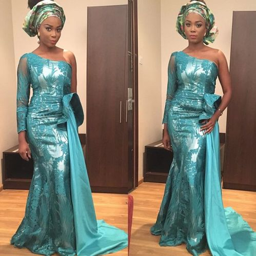 magnificent aso ebi styles in lace amillionstyles.com @didihandro