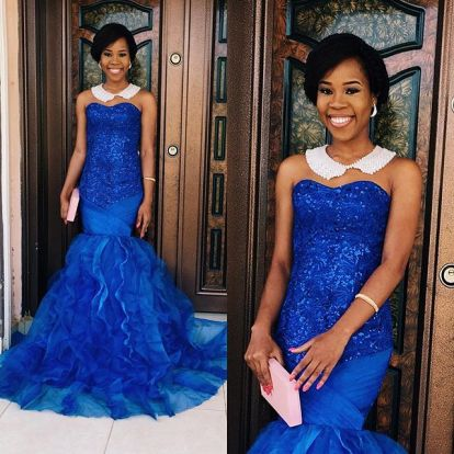 Rocking Single Colour Aso Ebi Full Gown. @t2pitchy amillionstyles