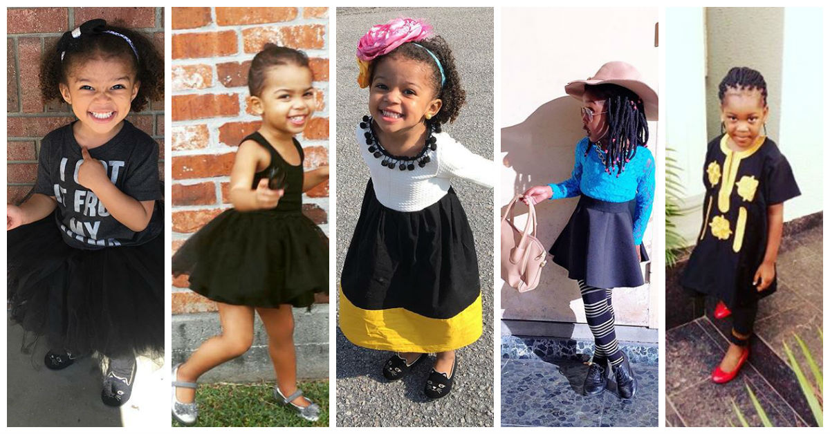 Stunning and Trending Wears amillionstyles.com for kids