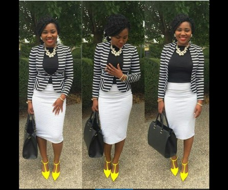 Pulchritude Church Outfits amillionstyles.com @thebeningirl