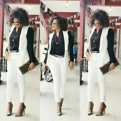 Sophisticated Office Outfits amillionstyles.com @joycee_ben
