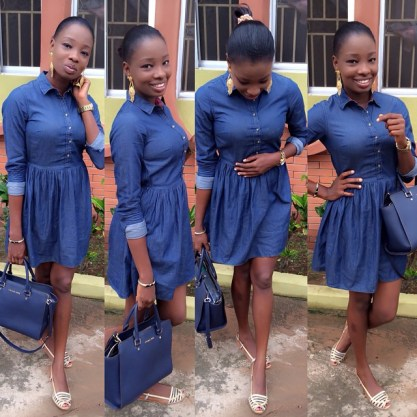 Awesome Ways To Rock That Denim amillionstyles @mz_oludee