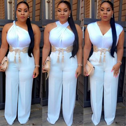 15 Outstanding Jumpsuit Styles That'll Wow You- Amillionstyles.com @adunola