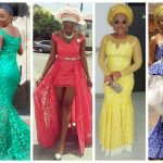20 Latest And Most Recent Asoebi In Lace Style A Million Styles