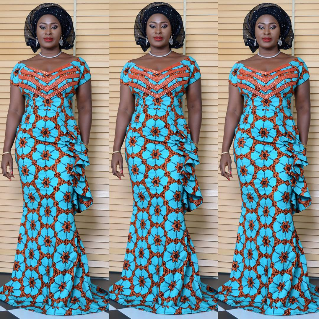 Admirable Floor Length Ankara Styles 2016 A Million