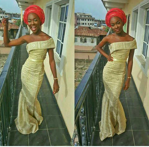10 Outstanding  Aso Ebi Attire Slayed In A Million Styles. @adebola_t