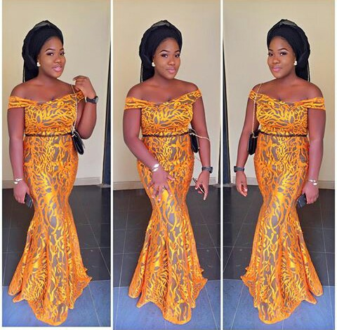 11 Glamorous Asoebi Styles on amillionstyles.com @hee_vi_ay