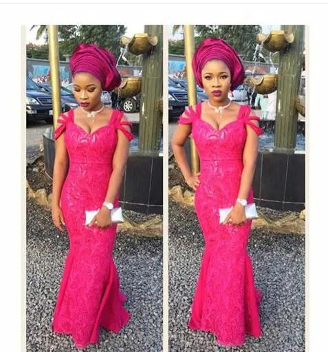 11 Glamorous Asoebi Styles on amillionstyles.com  @tolanithomas