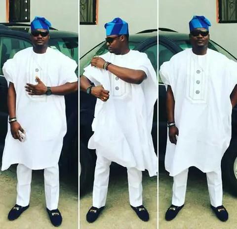 outstanding agbada styles yoruba demons @mrchukkie45