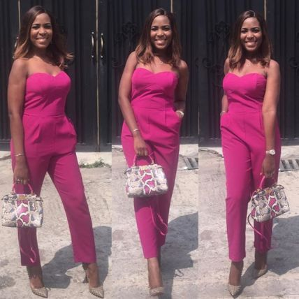Woman Crush Wednesday: Best Of Linda Ikeji In Jumpsuit