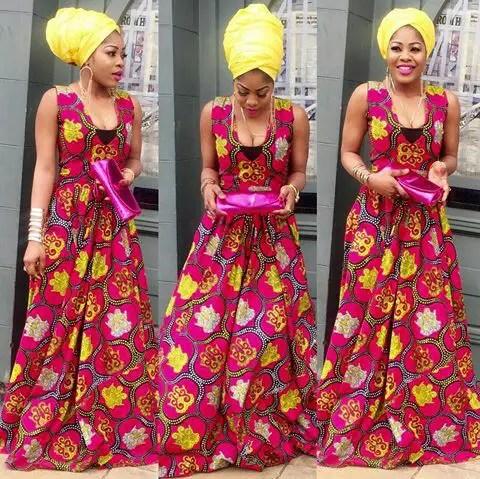 Latest Full Gown Ankara Styles amillionstyles.com @ennygoldmopretty