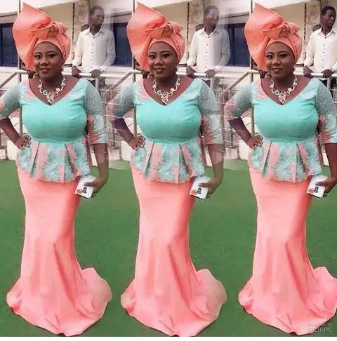 Outstanding Aso Ebi Worn Over The Weekend amillionstyles @adediwurablarkgold