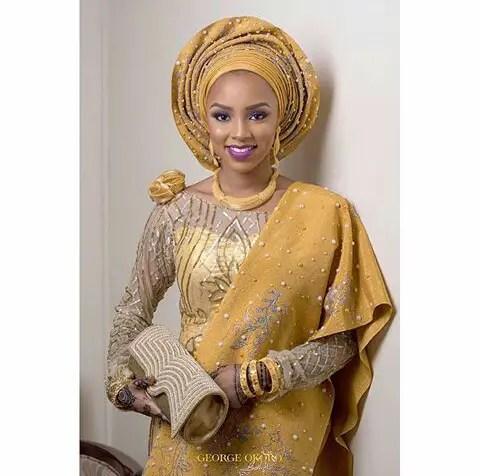 Amazing Traditional Bridal Looks amillionstyles.com @georgeokoro