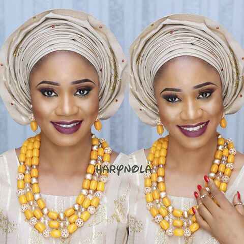 Amazing Traditional Bridal Looks amillionstyles.com @harynola