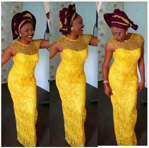 Glamour Wedding Pictures Of Seun Akindele amillionstyles @mary_lazarus