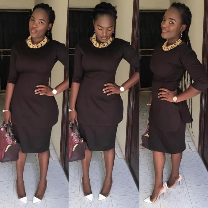 Amazing Church Outfit amillionstyles @lizdvenchi