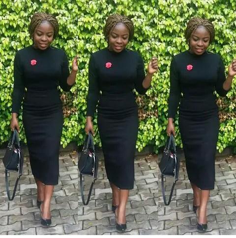 Simple Yet Classy Styles For Church - Amillionstyles.com @creamyifueko