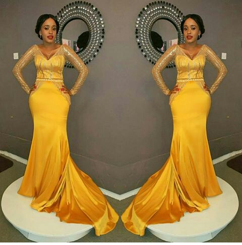 Stunning Dinner Gown You Should Try On - Amillionstyles @neymah_eric