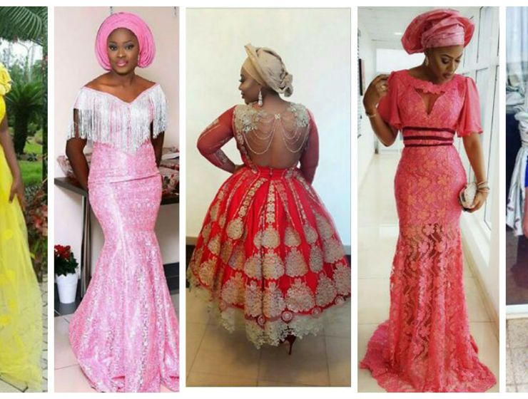 Aso Ebi Styles With This Trending Lace Designs-amillionstyles cover