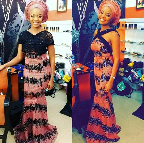 Outstanding Mid Week Aso Ebi Styles amillionstyles.com @opsydaisy28