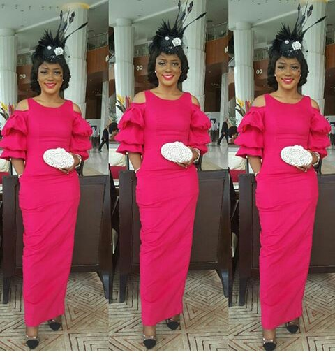 Fashionistas Rocking Latest Aso Ebi Styles @iamnini1